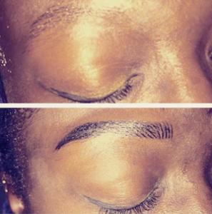 Vorher/Nachher, Permanent Makeup Augenbrauen, 5